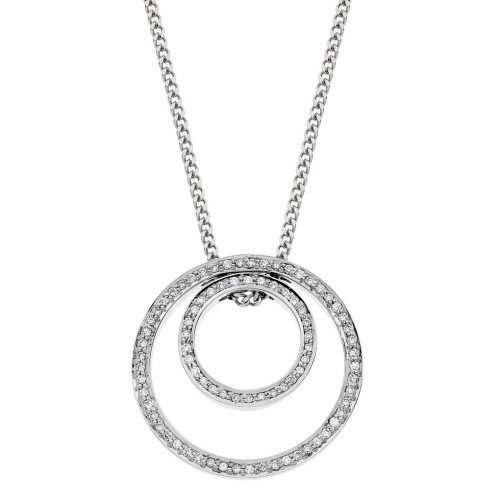 Double ring pendant