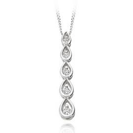 Five diamond pendant